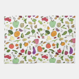 My small kitchen garden hand towel