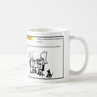 MY SMARTPHONE SAYS-MUG COFFEE MUG