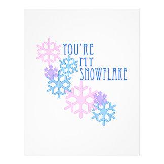 My Snowflake Letterhead Template