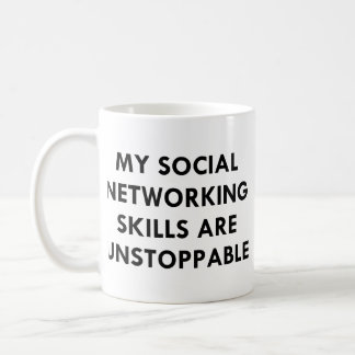 My Social Networking Coffee Mug