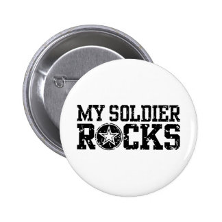 My Soldier Rocks Buttons
