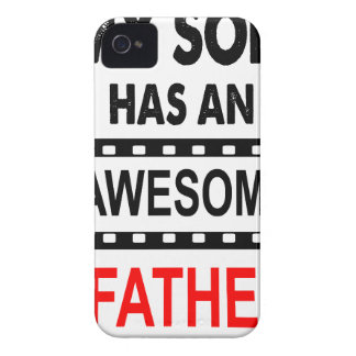 My Son Has An Awesome Father Case-Mate iPhone 4 Case