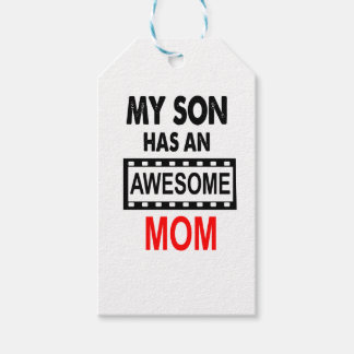 My Son Has An Awesome Mom Gift Tags