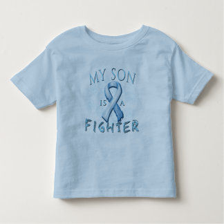 My Son is a Fighter Light Blue Toddler T-shirt