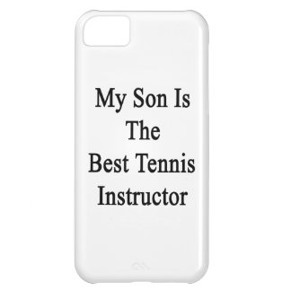 My Son Is The Best Tennis Instructor iPhone 5C Covers