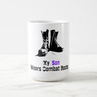 My Son Wears Combat Boots Coffee Mug