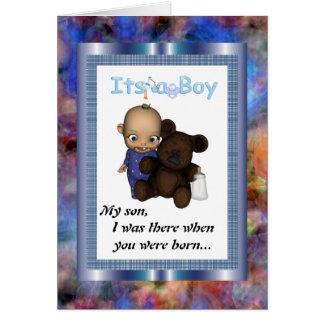 My Son Wedding Card