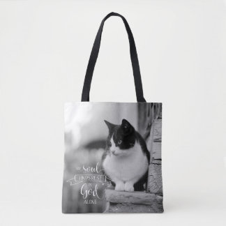 My Soul Finds Rest - Ps 62:1 Tote Bag