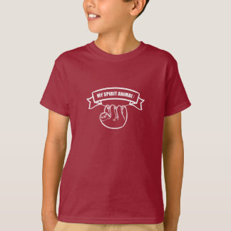 My SPI ritual animal is A sloth. /Lazy animal. T-Shirt