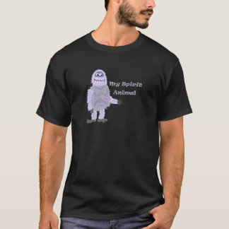 My Spirit Animal Abominable Snowman Cartoon T-Shirt