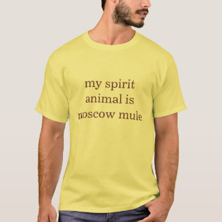 my spirit animal is moscow mule T-Shirt
