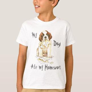 My St. Bernard Ate my Homework T-Shirt