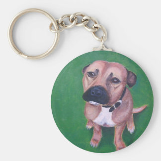 My staffy 2012 keychain