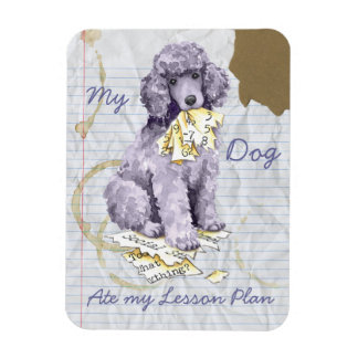 My Standard Poodle Ate my Lesson Plan Magnet