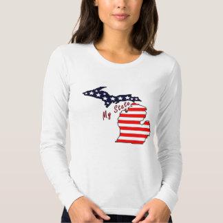 My State: Michigan Long Sleeve T-Shirt