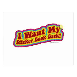 My Stickerbook Postcard