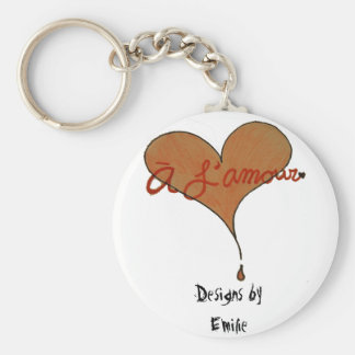 My Store's Keychain (A L'amour by Emilie)
