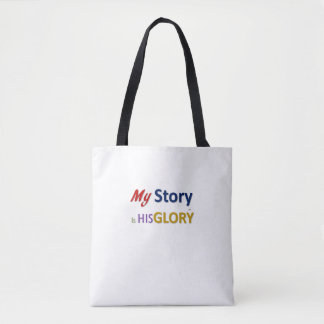 My Story is His Glory Tote