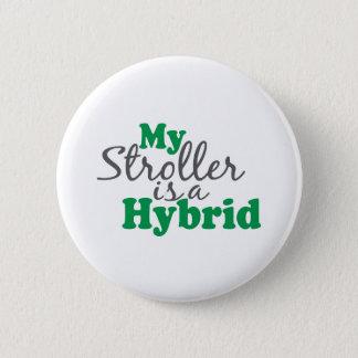 My Stroller is a Hybrid 2 Inch Round Button