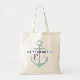 My Submariner My Hero Tote Bag