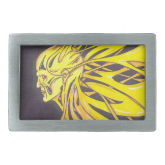 my sun rectangular belt buckle