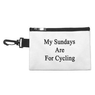 My Sundays Are For Cycling Accessory Bag