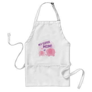 My Super Mom Standard Apron