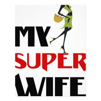 my super wife letterhead
