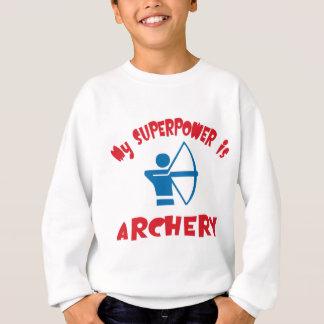 My Superpower is Archery Sweatshirt