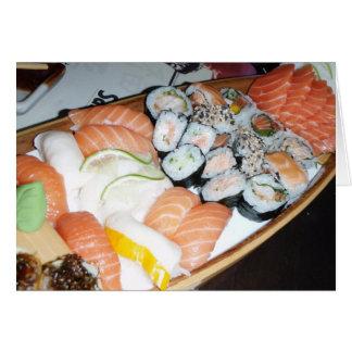My Sushi Dream Greeting Card