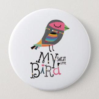 My sweat Bird buttons