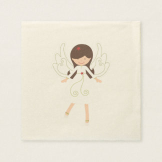 """MY SWEET ANGEL"" DISPOSABLE NAPKINS"
