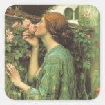 My Sweet Rose (Soul of the Rose) by Waterhouse Sticker