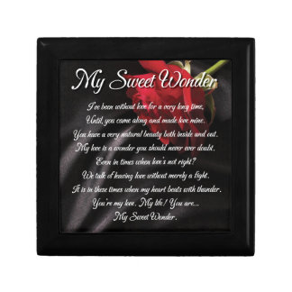 My Sweet Wonder Poetry Poster Gift Box