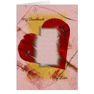 My Sweetheart Card Template