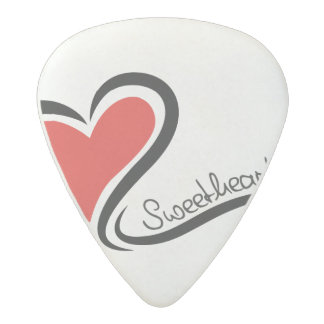 My Sweetheart Valentine Acetal Guitar Pick
