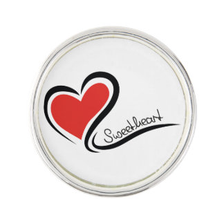 My Sweetheart Valentine Lapel Pin
