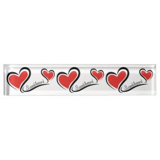 My Sweetheart Valentine Nameplate