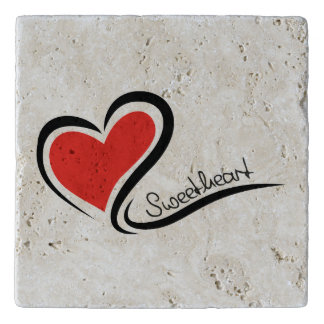 My Sweetheart Valentine Trivet