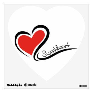 My Sweetheart Valentine Wall Sticker