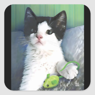 MY TAI HeARTcat stickers