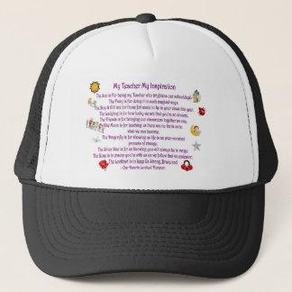 My Teacher My Inspiration Trucker Hat