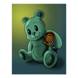 My Teddy and Me Poster