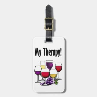 My Therapy Luggage Tag