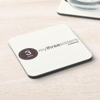 My Three Sisters Logo Mousepad - neutral Coaster