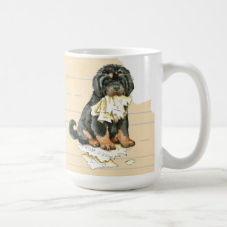 My Tibetan Mastiff Ate My Homework Coffee Mug
