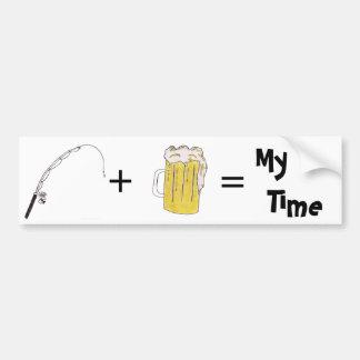 My Time Bumper Sticker