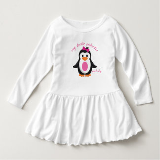 My Tootie Patootie Girly Penguin Personalized Shirt