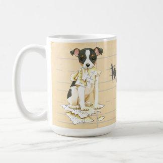 My Toy Fox Terrier Ate my Homework Coffee Mug