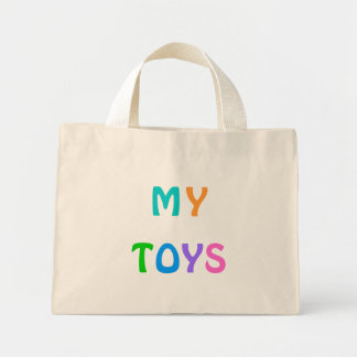 MY TOYS Small Tote Bag for Toddlers